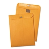 Quality Park Postage Saving Clear-Clasp Kraft Envelopes