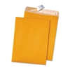 Quality Park 100% Recycled Brown Kraft Envelopes, 9 x 1