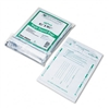 Quality Park Night Deposit Bags w/Tear-Off Receipt, 8.5