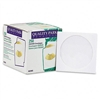 Quality Park CD/DVD Sleeves, White, 250/Box # QUA62905