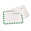 SURVIVOR White Leather Tyvek Mailer, 10 x 13, White, 10