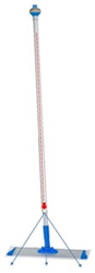 "Quick-Stick Mop Handle That Holds Solution With BLU19 Velcro Mop Included 74"" x 4"" x 4"", QUICK-STICK-VEL18"