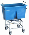 Mobile Scale  with Poly Tub- 249 lb. Capacity NOT LEGAL