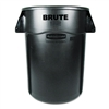 Rubbermaid Commercial Brute Vented Trash Receptacle, Ro