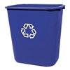 Rubbermaid Commercial Medium Deskside Recycling Contain