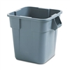Rubbermaid Commercial Brute Container, Square, Polyethy