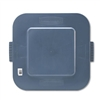 Rubbermaid Commercial Square Brute Lid, 24 x 22 x 1-1/5