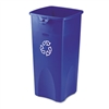 Rubbermaid Commercial Untouchable Recycling Container,