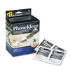 Read Right PhoneKleen Wet Wipes, Cloth, 5 x 5, 72/Box #