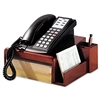 Rolodex Wood Tones Phone Center Desk Stand, 12 1/8w x 1