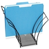 Rolodex Butterfly File Folder Sorter, 5 Sections, Mesh,