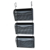 Rolodex Three-Pack Wire Mesh Wall Files, Letter, 3 Pock