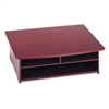 Rolodex Wood Tones Printer Stand, 21w x 18d, Mahogany #