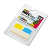 Redi-Tag Write-On Self-Stick Index Tabs/Flags, 1 1/16in