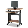 Safco 28 Wide Adjustable Height Workstation, 22d x 34h