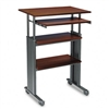 Safco Adjustable Height Stand-Up Workstation, 29w x 22d