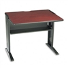 Safco Computer Desk w/Reversible Top, 35-1/2w x 28d x 3