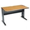 Safco Computer Desk w/Reversible Top, 48w x 28d x 30h,