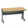 Safco Mobile Computer Desk w/Reversible Top, 54w x 28d