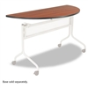 Safco Impromptu Mobile Training Table Top, Half Round,