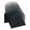 Safco Mesh Desk Organizer, 8 Sections, Steel, 11 1/4w x