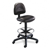 Safco Precision Extended Height Swivel Stool w/Adjustab