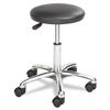 Safco Height Adjustable Lab Stool, 13-1/2 dia. x 21h, B
