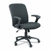 Safco Chair, High Back, Big & Tall, Black # SAF3490BL