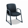 Safco Guest Chair, Big & Tall, Black # SAF3492BL