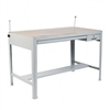 Safco Precision Four-Post Drafting Table Base, 56-1/2w
