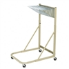Safco Steel Sheet File Mobile Stand, 27w x37-1/2d x 61-