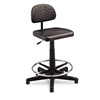 Safco TaskMaster EconoMahogany WorkBench Chair, Black #
