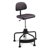 Safco TaskMaster EconoMahogany Industrial Chair, Black