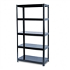 Safco Boltless Steel Shelving, 5 Shelves, 36w x 18d x 7