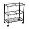 Safco Two-Tier Rolling File Cart, 25-3/4w x13-7/8d x 29