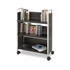 Safco Scoot Book Cart, 3-Shelf, 32-1/2 x 13-1/2 x 45, B