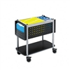 Safco Scoot Open Top Mobile File Cart, 14-3/4w x28d x 2