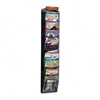 Safco Ten-Pocket Mesh Literature & Magazine Display Rac