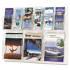 Safco Reveal 9-Pocket Plastic Literature Display, 3 Mag