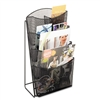 Safco Onyx Mesh 4-Pocket Counter Display, Black # SAF56