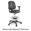Safco Apprentice II Extended Height Chair, Black Vinyl