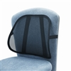 Safco Mesh Backrest, 17-1/2w x 3-1/8d x 15h, Black # SA