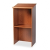 Safco Stand-Up Lectern w/Adjustable Shelf, 23w x 15-3/4