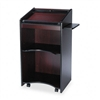 Safco Executive Mobile Lectern w/Pull-Out Shelf, 25 1/4