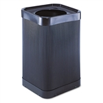 Safco At-Your Disposal TOPOpen Waste Receptacle, Square