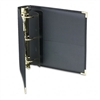 Samsill Classic Collection Ring Binder Portfolio, 8-1/2