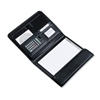 Samsill Tri-Fold Padfolio w/Calculator, Writing Pad, St