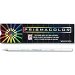 Prismacolor® Premier Colored Pencil, White Lead/Barrel, Dozen # SAN3365