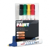 Sanford uni-Paint Marker, Medium Point, Assorted, 6/Set