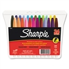 Sharpie Permanent Markers, Fine Point, Assorted, 24/Set